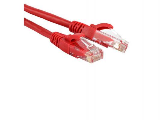 Патч-корд UTP Gemberd кат 5e 0.5м красный