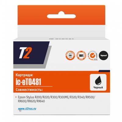 Картридж T2 IC-ET0481 C13T04814010 для Stylus Photo R200 R300 RX500 RX600 черный