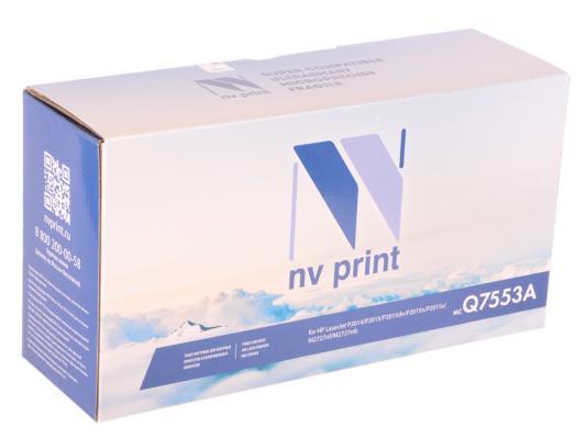 Картридж NV-Print Q7553A для HP LaserJet P2014/P2015/M2727mfp черный 3000стр nv print cf303a magenta тонер картридж для hp laserjet enterprise flow mfp m880z m880z plus m880z plus nfc