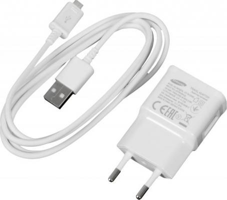 Сетевое зарядное устройство Samsung EP-TA12EWEUGRU microUSB 2А белый samsung ep ta12 white сетевое зарядное устройство microusb 2 0