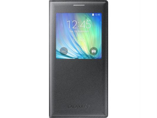 Чехол-книжка Samsung EF-CA700BCEGRU для Samsung A700 S View черный