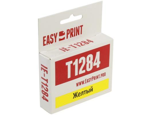 Картридж * IE-T1284 для Epson Stylus S22/SX125/Office BX305F 270стр Желтый