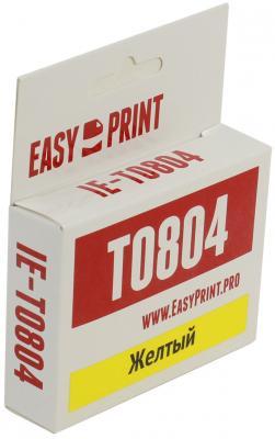 Картридж EasyPrint IE-T0804 C13T08044011для Epson Stylus Photo P50 PX660 PX720WD PX820FWD желтый