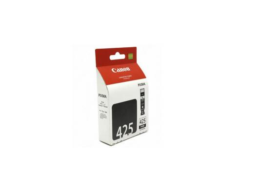 Картридж Canon CPGI-425BK 4532B007 для Canon Pixma IP4840 MG5140 MG5240 MG6140 MG8140 черный 344 стр pgi 425 cli 425 refillable ink cartridges for canon pgi425 pixma ip4840 mg5140 ip4940 ix6540 mg5240 mg5340 mx714 mx884 mx894