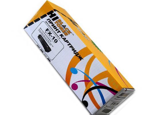 Картридж Hi-Black FX-10/Q2612A/FX-9 для HP LaserJet 1010/1012/1015/1018/1020 canon fx 10 для l100 l120 black картридж