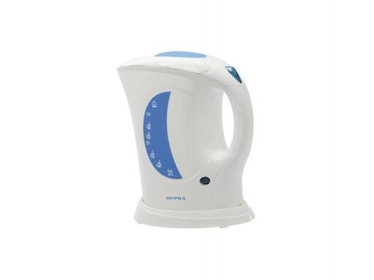 Чайник Supra KES-1723 2000Вт 1.7л пластик бело-серый