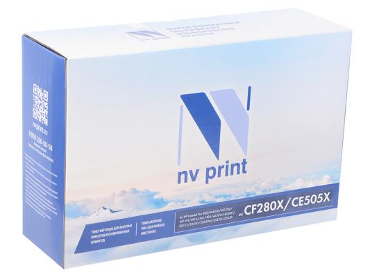 Картридж NV-Print CF280X/CE505X для HP LaserJet Pro M401D M401DW M401DN M401A M401 M425 Pro M425DW M425DN Pro/L5 черный 6900стр картридж для принтера nv print для hp cf403x magenta