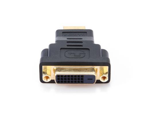 Переходник HDMI M - DVI F Gembird золотые разъемы пакет A-HDMI-DVI-3 переходник ningbo hdmi m dvi d f позолоченные контакты черный cab nin hdmi m dvi d f