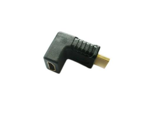Переходник HDMI (M)-HDMI (F) угловой VCOM Telecom VAD7865/CA320