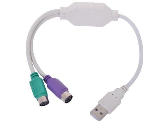 Конвертер Gembird USB Am-2xPS/2 UAPS12