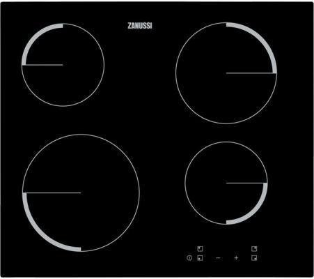 Варочная панель Zanussi ZEV56240FA закаленное стекло черный