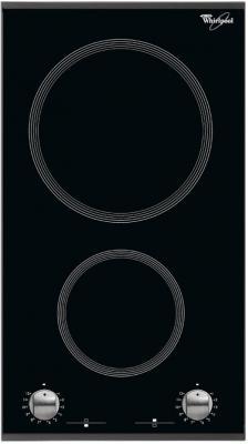 Варочная панель электрическая Whirlpool AKT 360/IX черный