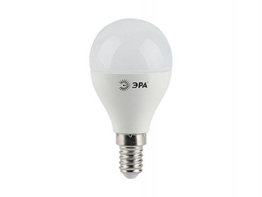 Светодиодная лампа ЭРА LED smd P45-7w-827-E14 теплый белый свет E14 7W лампа эра ne 303 e14 15w bk black б0001688