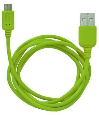 купить Кабель USB-microUSB 1.0м Human Friends Super Link Rainbow M Green недорого