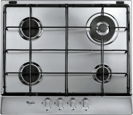 Варочная панель газовая Whirlpool AKR 353/IX серебристый
