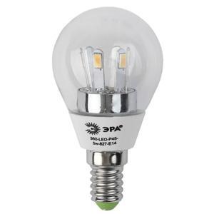 Лента светодиодная шар Эра smd P45-5w-827-E14 E14 5W 2700K