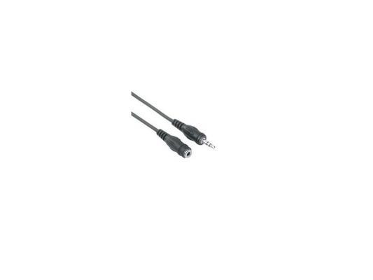 Кабель удлинительный 1.8м VCOM Telecom 3.5 Jack (M) - 3.5 Jack (F) стерео аудио VAV7179-1.8M кабель удлинительный 1 8м vcom telecom 3 5 jack m 3 5 jack f стерео аудио vav7179 1 8m