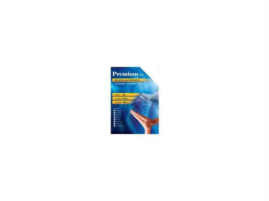 Обложки Office Kit PSA400180 А4 0.18мм прозрачный дымчатый 100шт