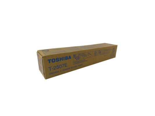 Тонер-картридж Toshiba T-2507E для e-STUDIO2006/2506/2007/2507 черный 12000стр 6AG00005086 c builder borland developer studio 2006 для профессионалов