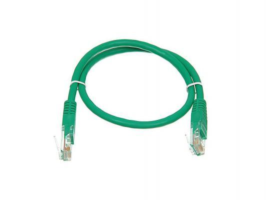 Патч-корд 5E категории UTP с RJ45 зеленый 0.5м