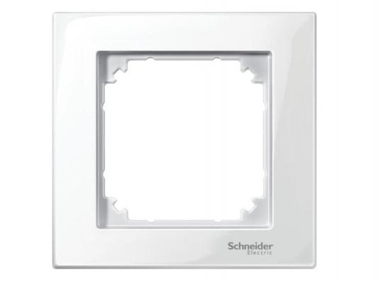 Рамка 1 пост белый Schneider Electric MTN478119