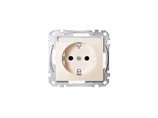 Розетка Schneider Electric бежевый MTN2301-0344