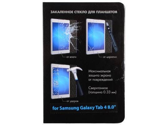 Защитное стекло DF для Samsung Galaxy Tab 4 8.0 sSteel-05 закаленное стекло для samsung galaxy j1 2016 df ssteel 49