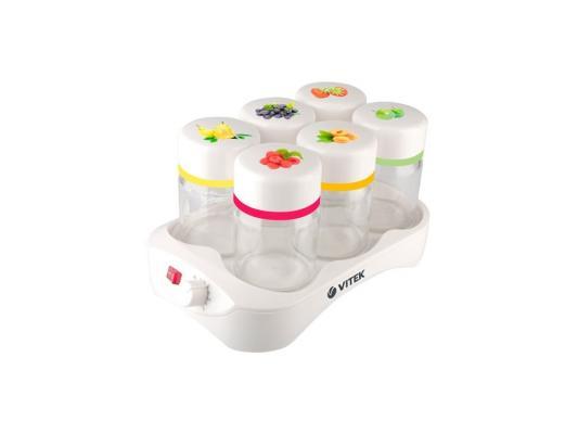 Йогуртница Vitek VT-2600(W) 12Вт белый