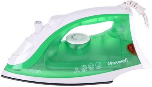 Утюг Maxwell MW-3054-G 2000Вт зеленый утюг maxwell