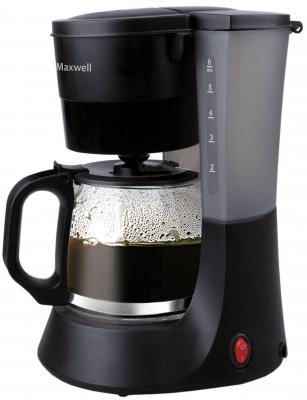 Кофеварка Maxwell MW-1650 BK черный