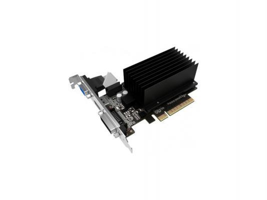 Видеокарта 2048Mb ASUS GeForce GT710 PCI-E 64bit GDDR5 DVI HDMI CRT HDCP GT710-SL-2GD5-BRK Retail