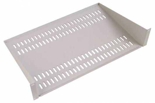 Картинка для Полка ЦМО перфорированная консольная 2U МС-40-9005 глубина 400 мм черный