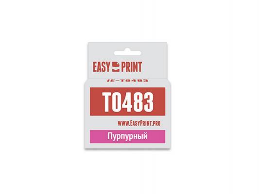 Картридж * IE-T0483 для для Epson Stylus Photo R200/300/RX500/600 400стр Пурпурный
