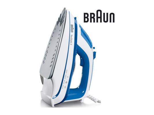 Утюг Braun TexStyle TS355(A) 2000Вт белый синий утюг braun ts355 a