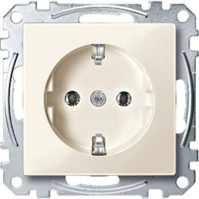 Розетка электрическая Schneider Electric бежевый MTN2300-0344  цена и фото