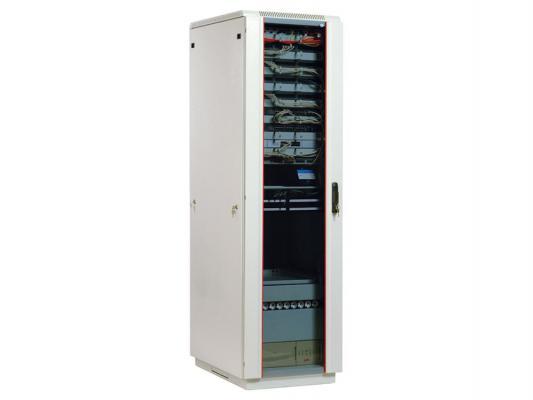 Шкаф напольный 33U ЦМО ШТК-М-33.6.6-1ААА 600х600mm дверь стекло 3 коробки