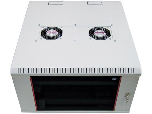 Шкаф настенный разборный 12U ЦМО ШРН-М-12.650 600x650mm дверь стекло