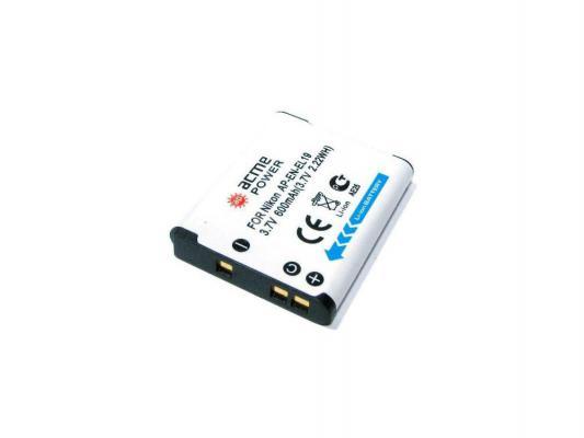Аккумулятор AcmePower AP-EN-EL19 для фотокамеры NIKON аккумулятор acmepower ap en el3e