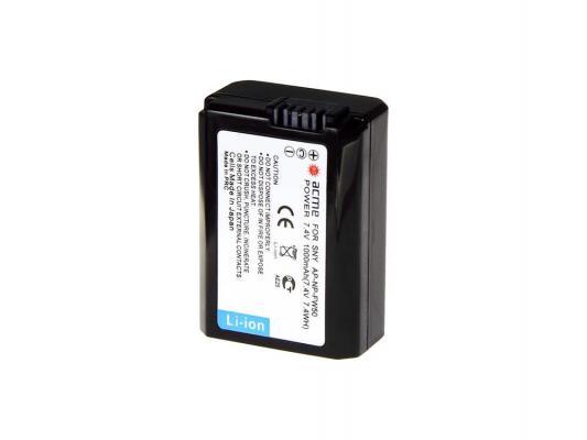 Аккумулятор AcmePower AP-NP-FW50 для видеокамеры SONY аккумулятор acmepower ap np fv50 для видеокамеры sony