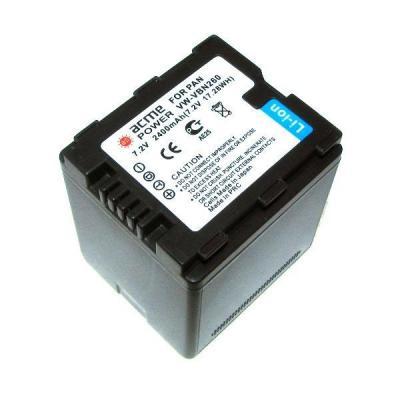 Аккумулятор AcmePower AP-VBN-260 для видеокамеры Panasonic аккумулятор acmepower ap vbn260 li ion 7 2в 2400мaч для видеокамер panasonic hc x800 x900 x900m x910 x920 x920m hdc hs900 sd800 sd900 tm900 [ap vbn 260]