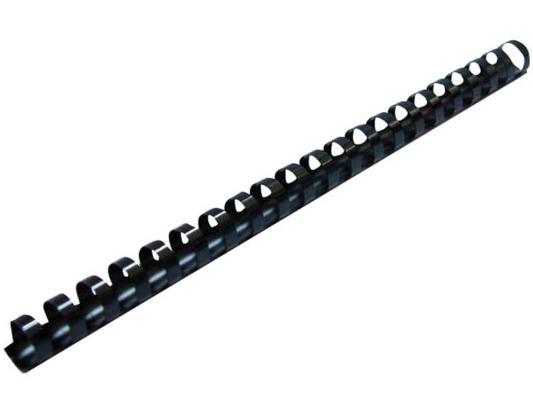 Пружина пластиковая Fellowes Lamirel LA-7867301 12мм черный 100шт CRC-78673