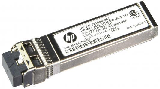 Трансивер HP MSA 2040 10Gb Short Range iSCSI SFP+ 4-pack C8R25A hp hp msa 2040 m0t60a