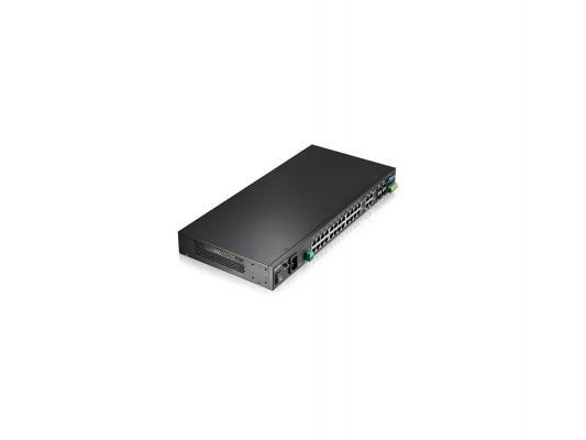 Коммутатор Zyxel MGS3520-28 управляемый 28 портов 10/100/1000Mbps 4xSFP
