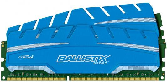 Оперативная память 8Gb (2x4Gb) PC3-14900 1866MHz DDR3 DIMM Crucial BLS2C4G3D18ADS3CEU