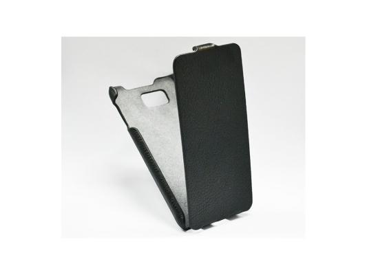 Чехол - книжка iBox Premium для Samsung G850 Galaxy Alpha черный nillkin protective matte plastic back case for samsung galaxy alpha g850f black