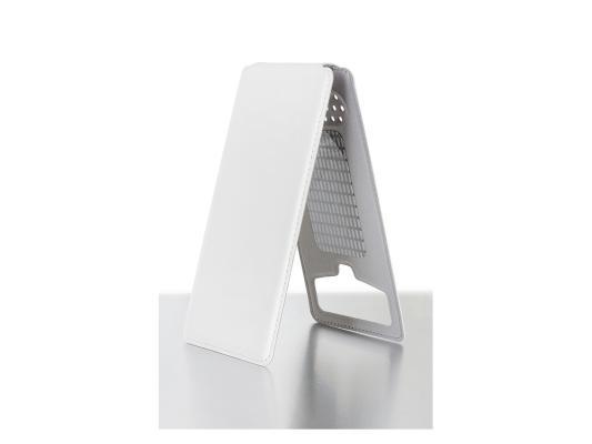 Чехол универсальный iBox UNI-FLIP для телефонов 3.3-3.8 дюйма белый чехол