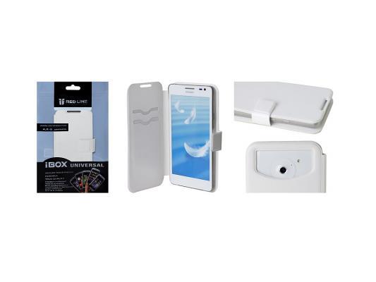 Чехол универсальный iBox Universal для телефонов 4.2-5 дюйма белый