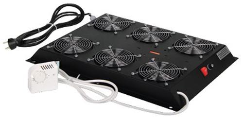Вентиляторный модуль Estap M55HV6FSTB 6 вентиляторов для шкафов ServerMAX черный