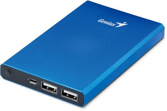 Мобильный аккумулятор Genius для планшетных компьютеров ECO-U628 6000mAh синий 39800008103