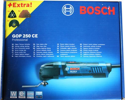 Многофункциональная шлифмашина Bosch GOP 250 CE 20000 об/мин 250Вт